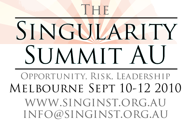 Singularity Summit Australia 2010