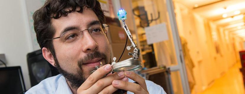 Ed Boyden develops new strategies for analyzing and engineering brain circuits, using synthetic biology, nanotechnology, chemistry, electrical engineering, and optics to develop broadly applicable methodologies that reveal fundamental mechanisms of complex brain processes. A major goal of his current work is the development of technologies for controlling nerve cells using light – a powerful new technology known as optogenetics that is opening the door to new treatments for conditions such as epilepsy, Parkinson's disease, and mood disorders.