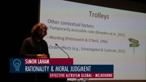 Simon Laham - Rationality & Moral Judgement - Effective Altruism Global Melbourne 2015