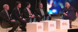 Panel - Ray Kurzweil Stuart Russell Max Tegmark Harry Shum - mod Margaret Boden