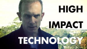 Andrew Barron - High Impact Technology. - title