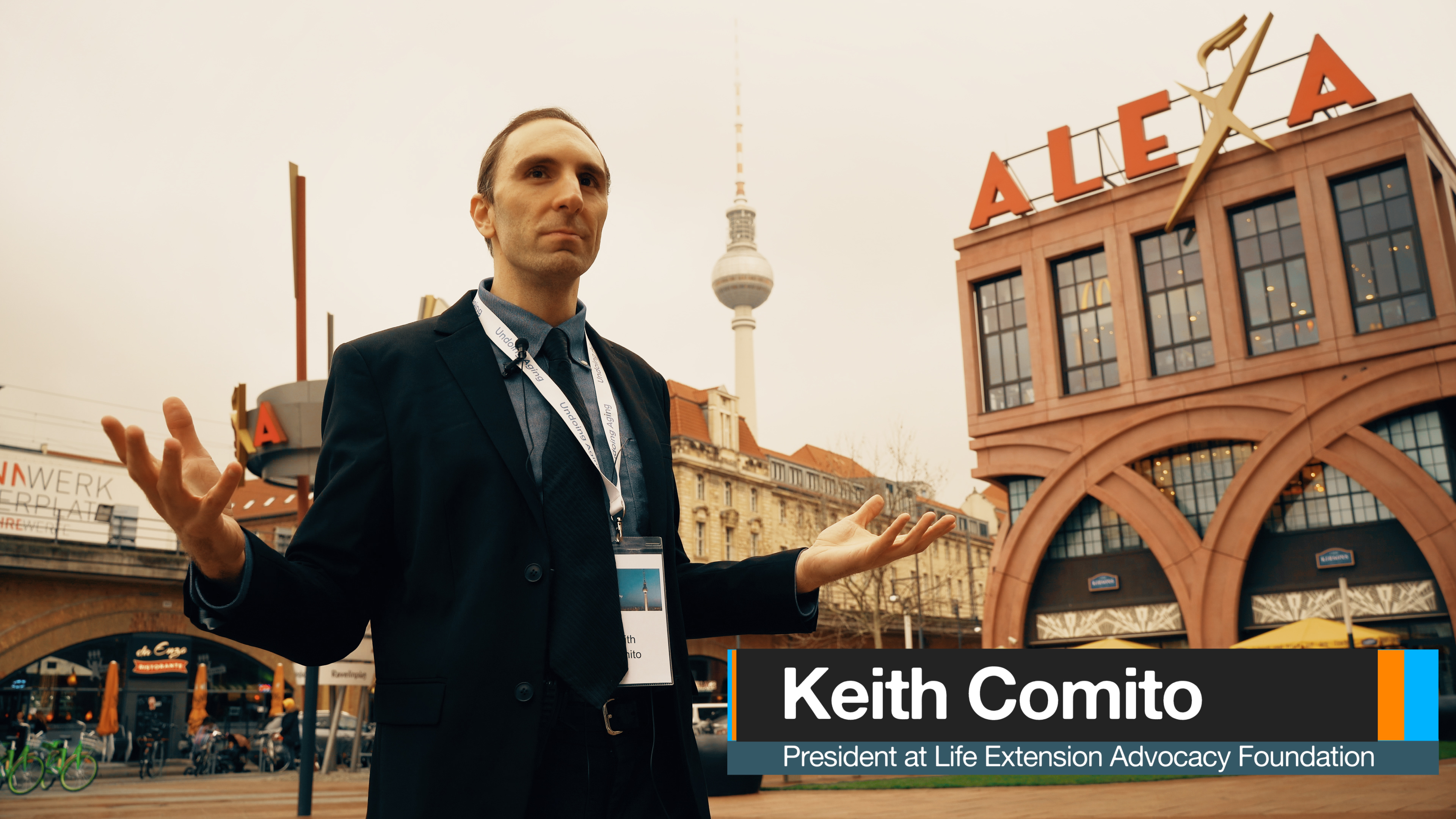 Keith Comito on Undoing Ageing   Science, Technology & the