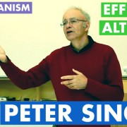 Peter Singer at UMMS - Ethics Utilitarianism Effective Altruism
