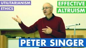 Peter Singer at UMMS - Ethics Utilitarianism Effective Altruism